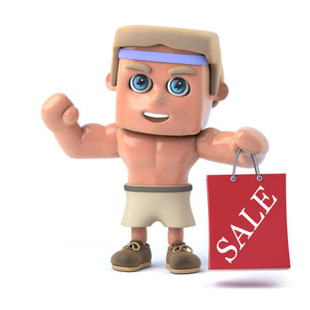 gone: 3d Bodybuilder has gone to the sales