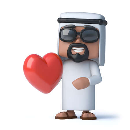 sheik: 3d Arab is in love