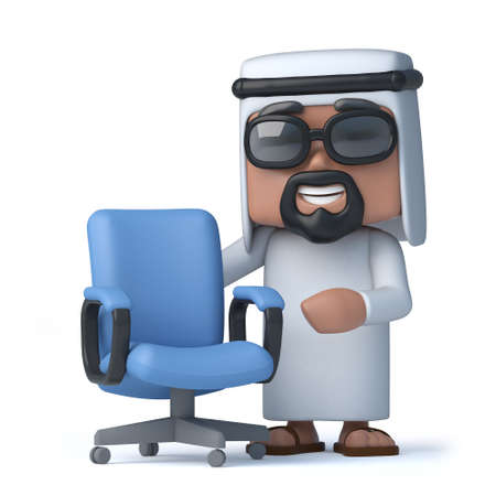 sheik: 3d Arab has a vacancy