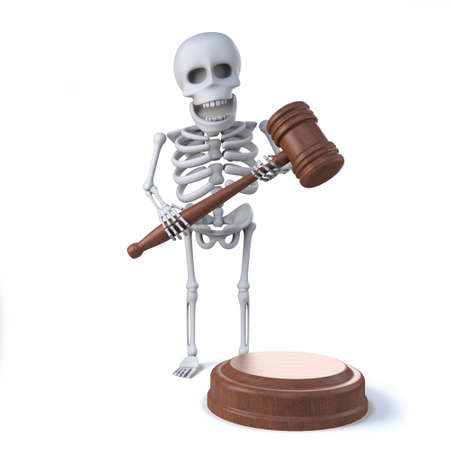 auctioneer: 3d Skeleton auctioneer