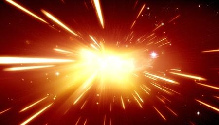 Big Bang achtergrond Stockfoto
