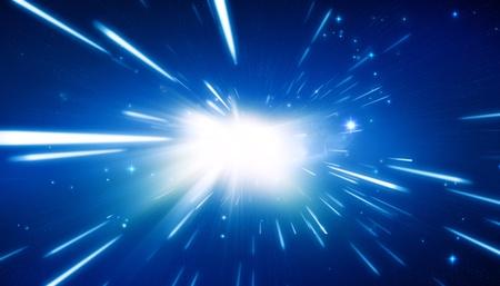 Big Bang - Universe Background Stock Photo