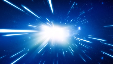 milky way galaxy: Big Bang - Universe Background Stock Photo