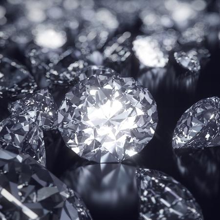 Glanzende diamanten achtergrond Stockfoto