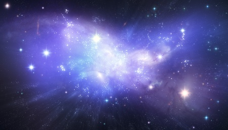 loopable: Beautiful galaxy background