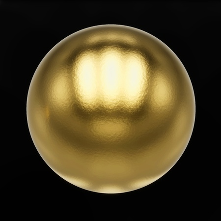 metal ball with clipping path Stock Photo - 17497952