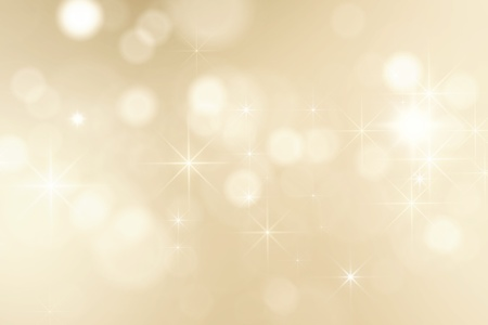 silver jewelry: bright golden sparkles background