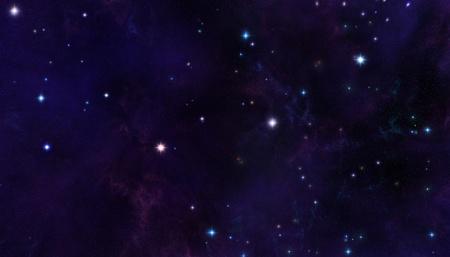 starfield: abstract starfield background