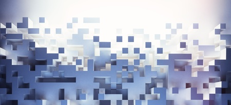 abstract cubes background - hq lights