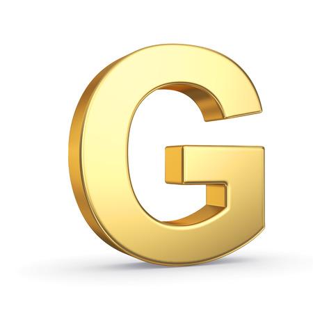 3D golden letter Stockfoto - 25587137