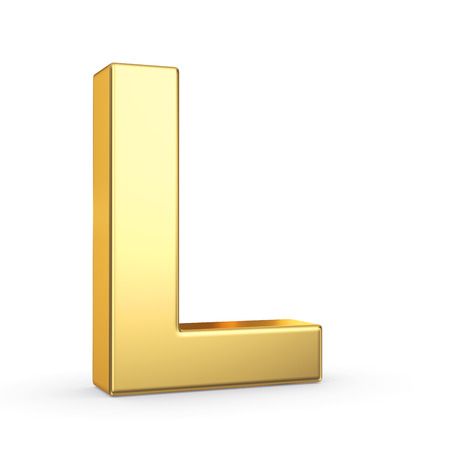 3D gouden letters Stockfoto - 25587136