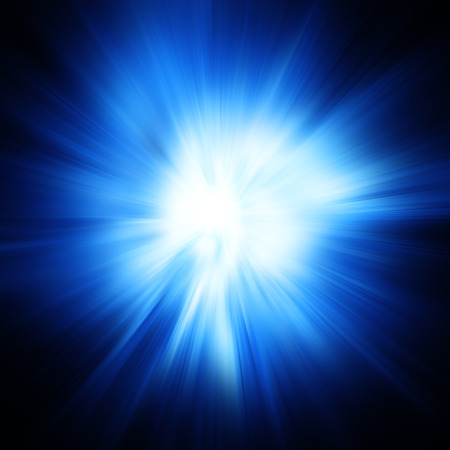 Lighting blue energy background - compuetr generated image Zdjęcie Seryjne