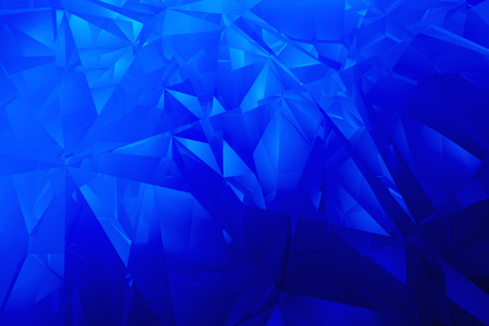 facet: Abstract blue facet diamond backdrop  Stock Photo