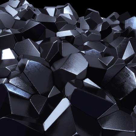Abstract hi-tech geometric 3d background