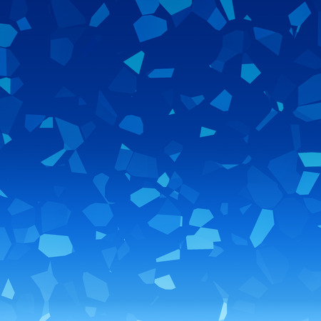 facet: Blue crystal facet background  Stock Photo