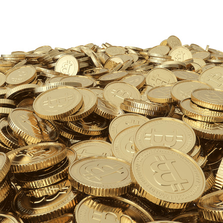 Golden  coins Stockfoto - 24117326