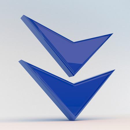 3d cursor: 3D download icon