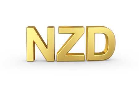 Golden 3D NZD currency