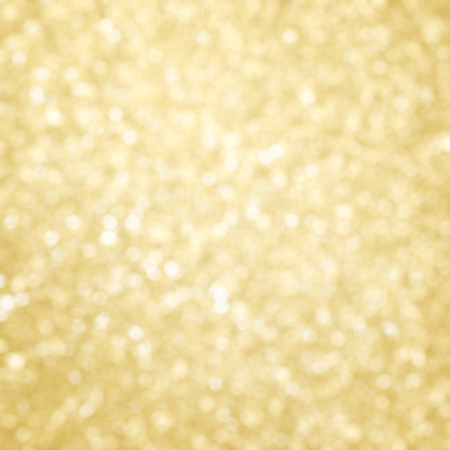 Abstract golden christmas defocused glitter background