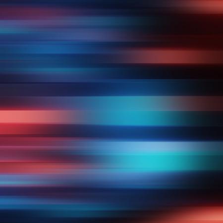 Abstracte blauwe en rode motie blured strepen