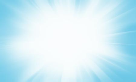 leuchtend: Abstraktes helles Licht - Sommersonne Hintergrund
