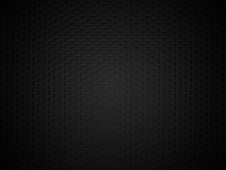 Abstract black hexagonal carbon background Фото со стока - 45142025
