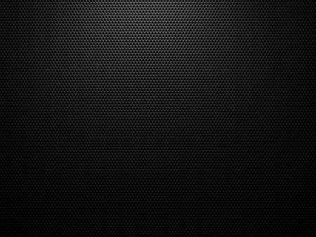 Black carbon structure background - 3D hexagon geometric structure pattern Standard-Bild