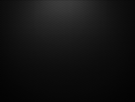 Black carbon structure background - 3D hexagon geometric structure pattern Stockfoto