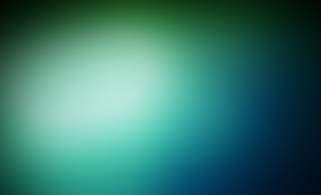 blue green background: Abstract blue and green blured background - defocused lights backdrop