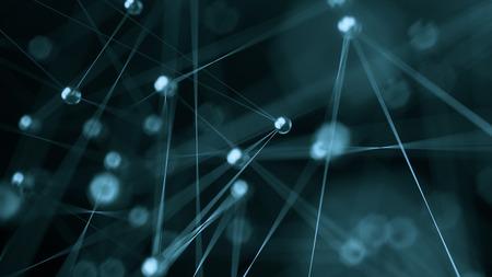 추상 인터넷 네트워크 통신 개념 배경 - CG 렌더링