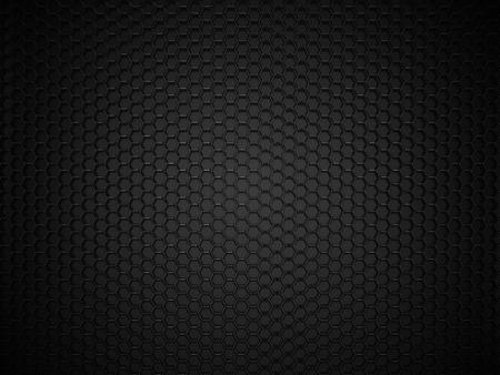 Résumé noire hexagonale fond de carbone Banque d'images - 45148174