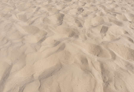 Yellow Beach Sand Texture Summer Background