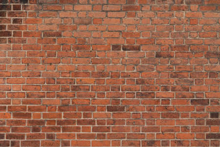 Old Red Brick Wall Texture Stockfoto
