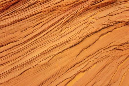 Orange sandstone texture background. Abstract nature background. Stone layers in Arizona Stockfoto