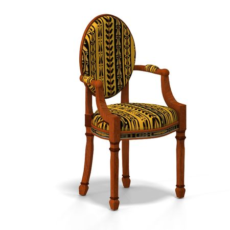 cushy: traditional chair with padding (upholstery) contains Clipping