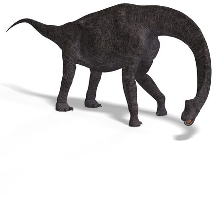 assail: giant dinosaur brachiosaurus With Clipping over white