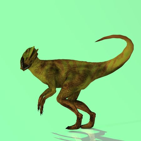 marvel: Rendered Image of a Dinosaur - with Clipping