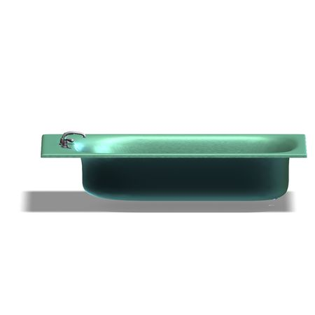 smut: 3d rendering of a bathtube with Clipping and shadow over white