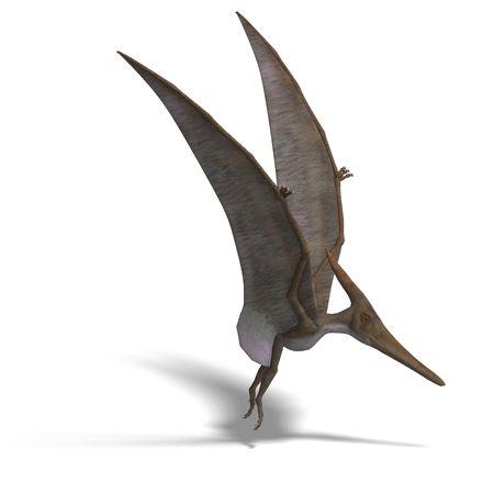 flying dinosuar Pteranodon.