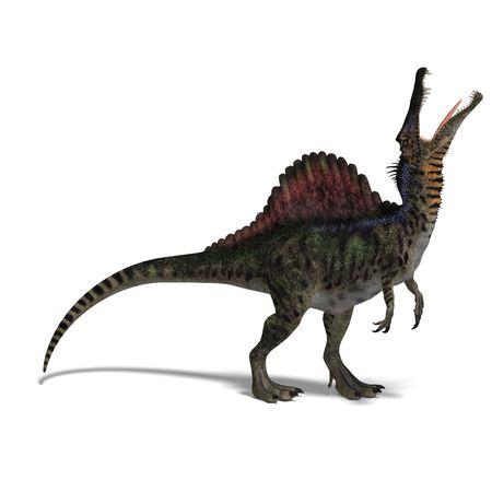 spinosaurus: dinosaur Spinosaurus.