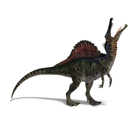 dinosaurio Spinosaurus. Foto de archivo - 5310882
