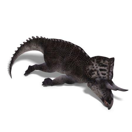 perish: Dinosaur Zuniceratops.