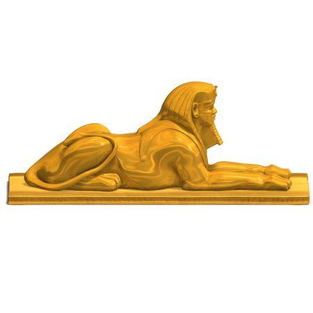 sceptre: rendering of eygpt god statue