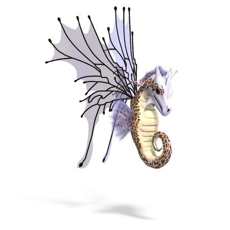 faerie: 3D rendering of a Faerie Fantasy Dragon
