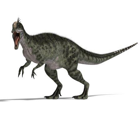 chew over: giant jurassic beast. Stock Photo