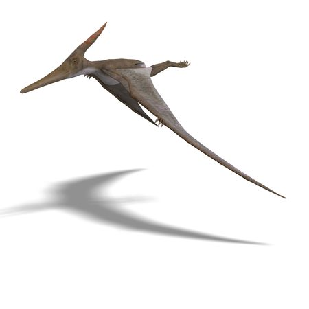 levitation: flying dinosuar Pteranodon.