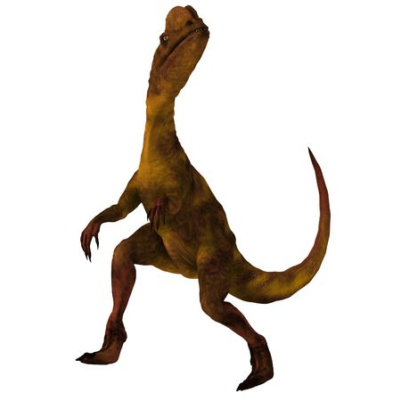 devour: Rendered Image of a Dinosaur -  Stock Photo