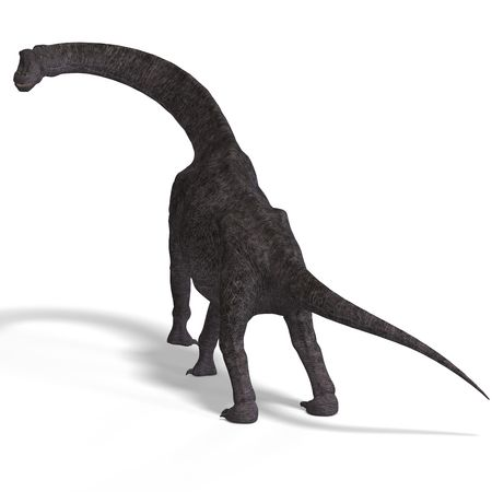 giant dinosaur brachiosaurus  Stock Photo - 5400274