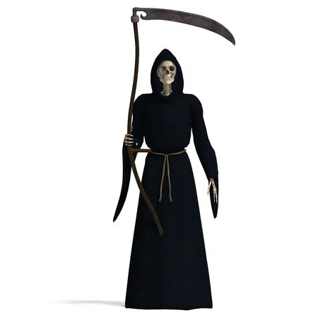 3D rendering of the deadly reaper