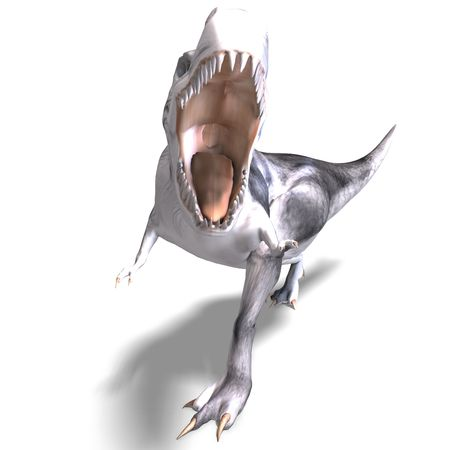 vigorousness: T-Rex. 3D render